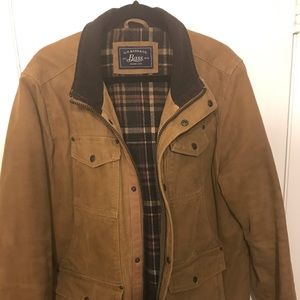 G.H. Bass Flannel Lined Chore Coat